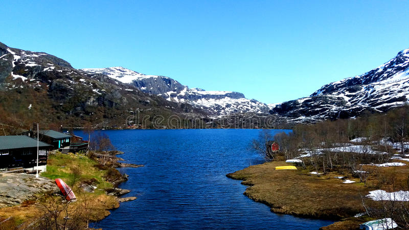 Fiords of Norway stock images