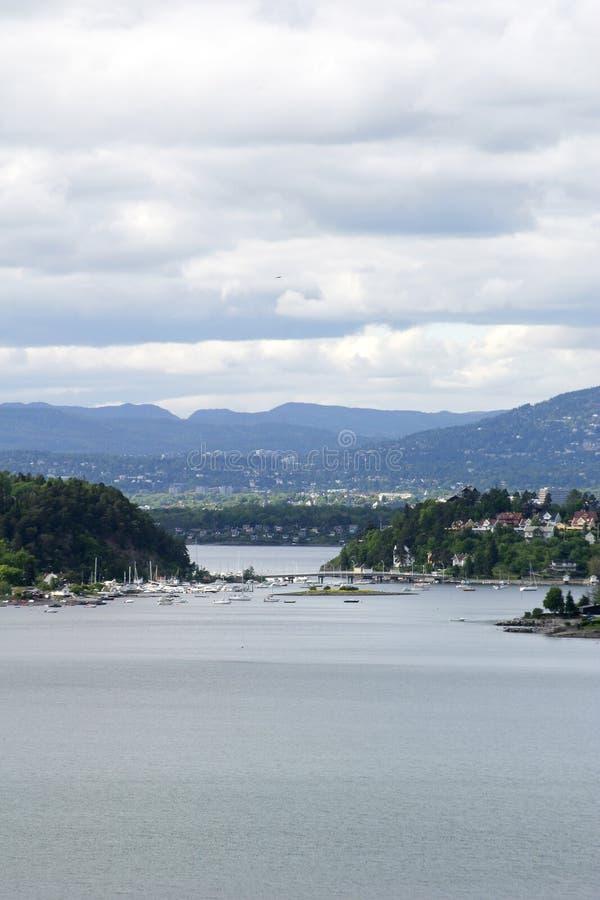 fiordu Oslo obrazy stock