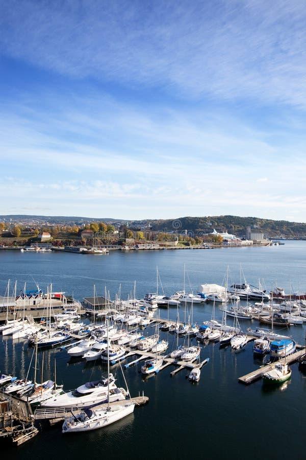 fiordu Oslo zdjęcia stock