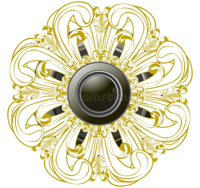 Fiore astratto royalty illustrazione gratis