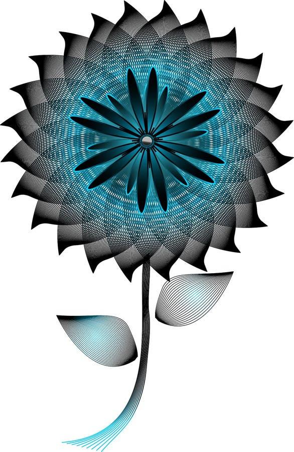 Fiore blu immagini stock libere da diritti