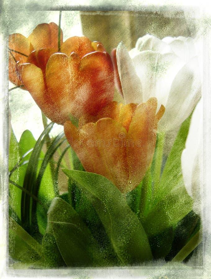 Fiore dell'annata illustrazione di stock