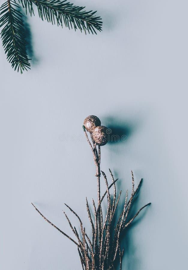 Fiore della decorazione di Natale immagini stock libere da diritti