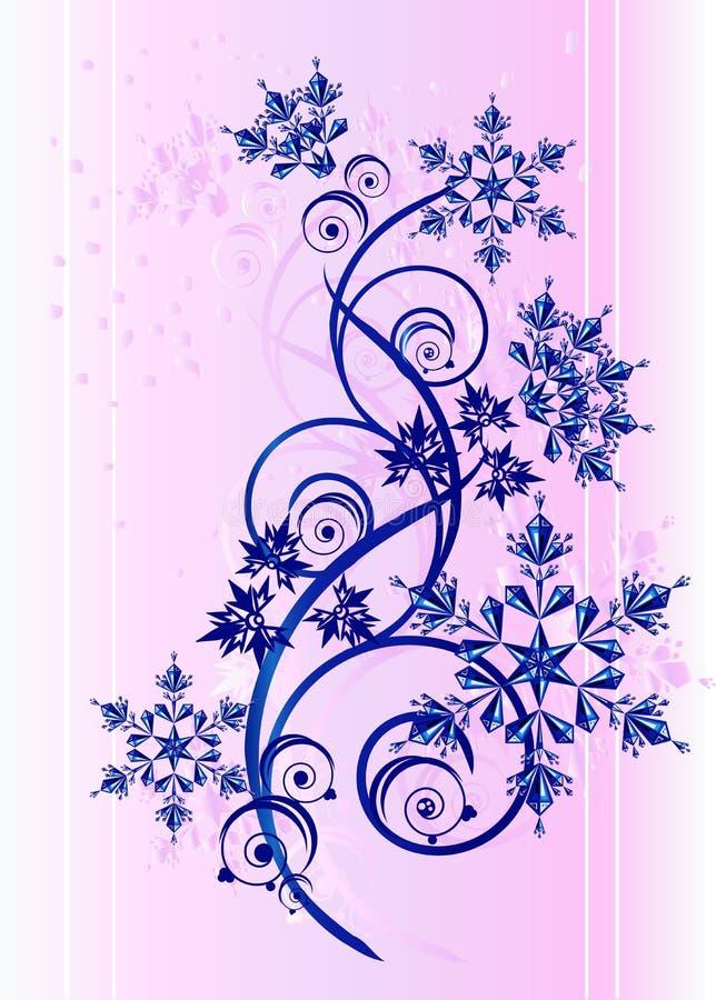 Fiore della neve illustrazione di stock