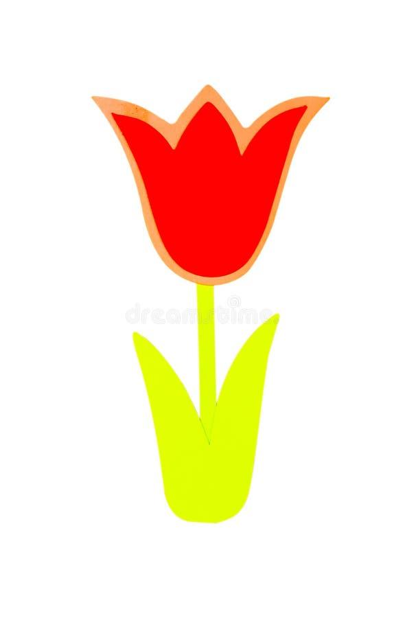 Download Fiore di carta illustrazione di stock. Illustrazione di fiore - 211170