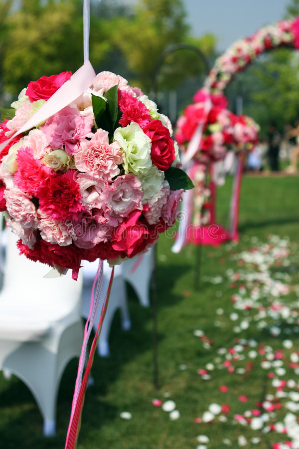 Fiore di cerimonia nuziale immagine stock libera da diritti