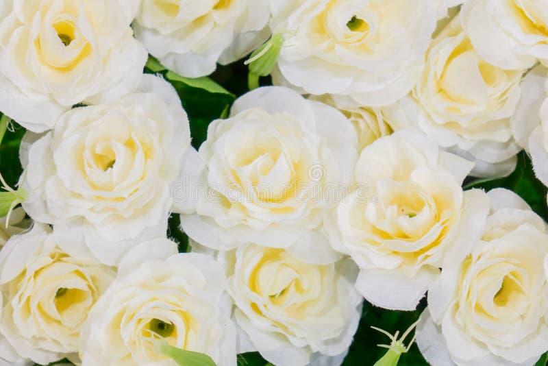 Fiore di falsificazione di Rosa fotografie stock