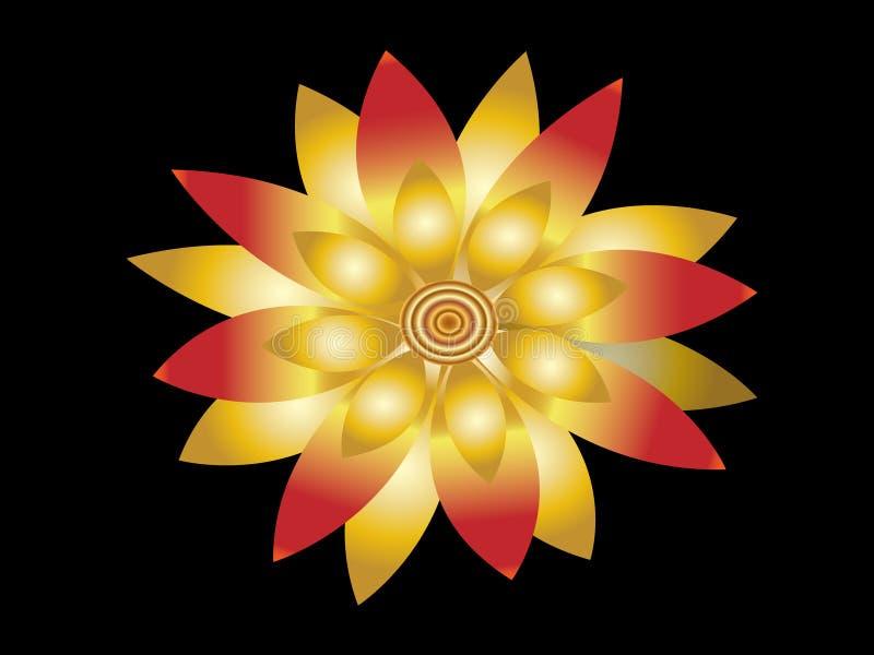 Fiore di loto royalty illustrazione gratis