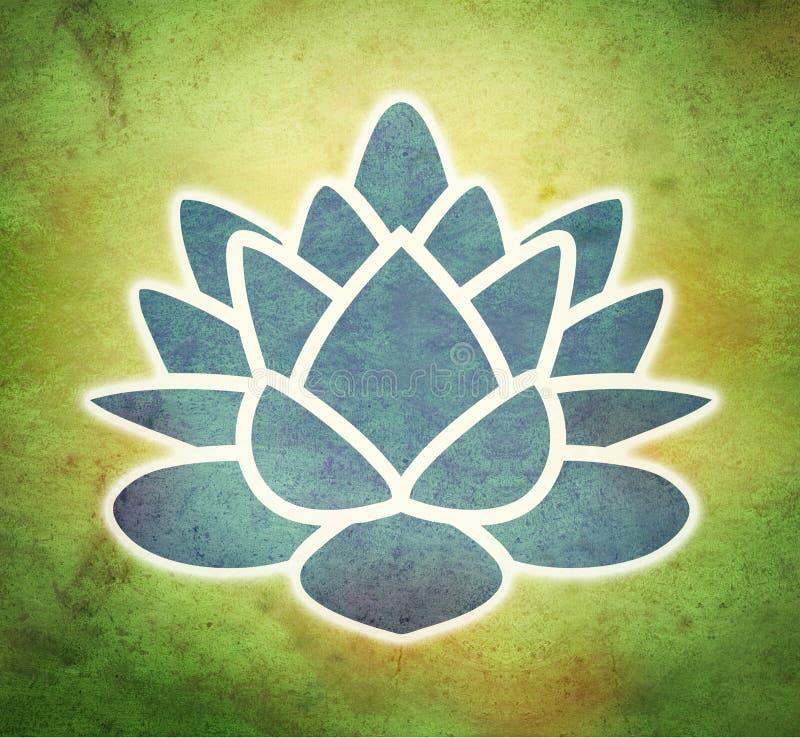 Fiore di loto illustrazione di stock