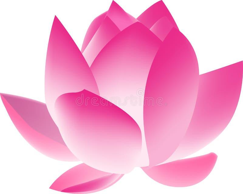 Fiore di loto illustrazione vettoriale