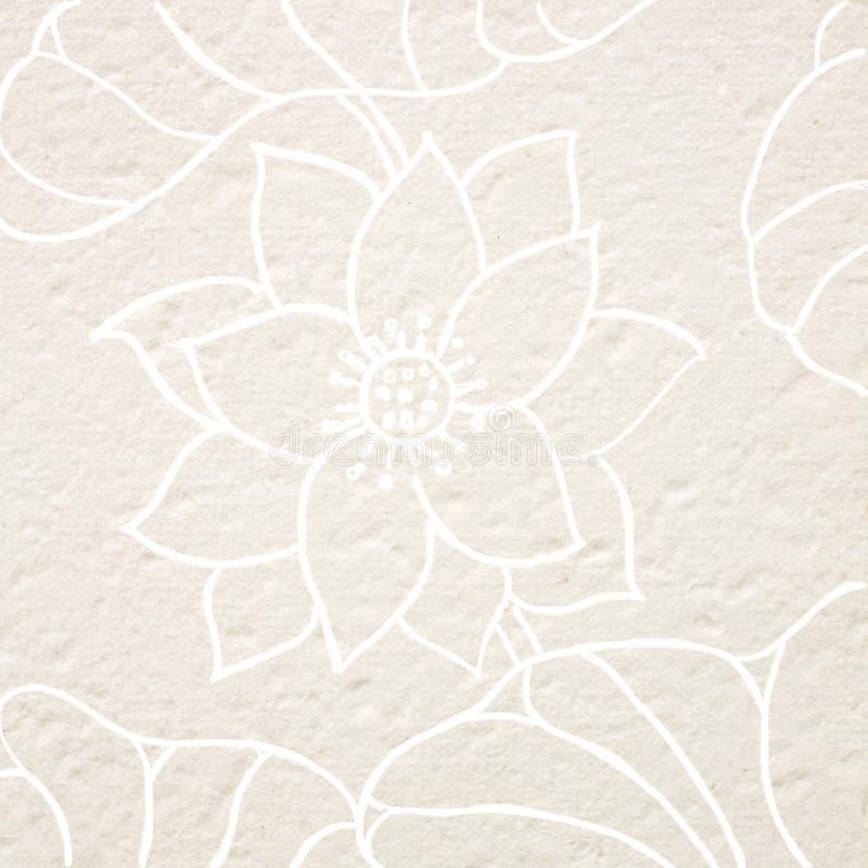 Fiore di loto dell'illustrazione royalty illustrazione gratis
