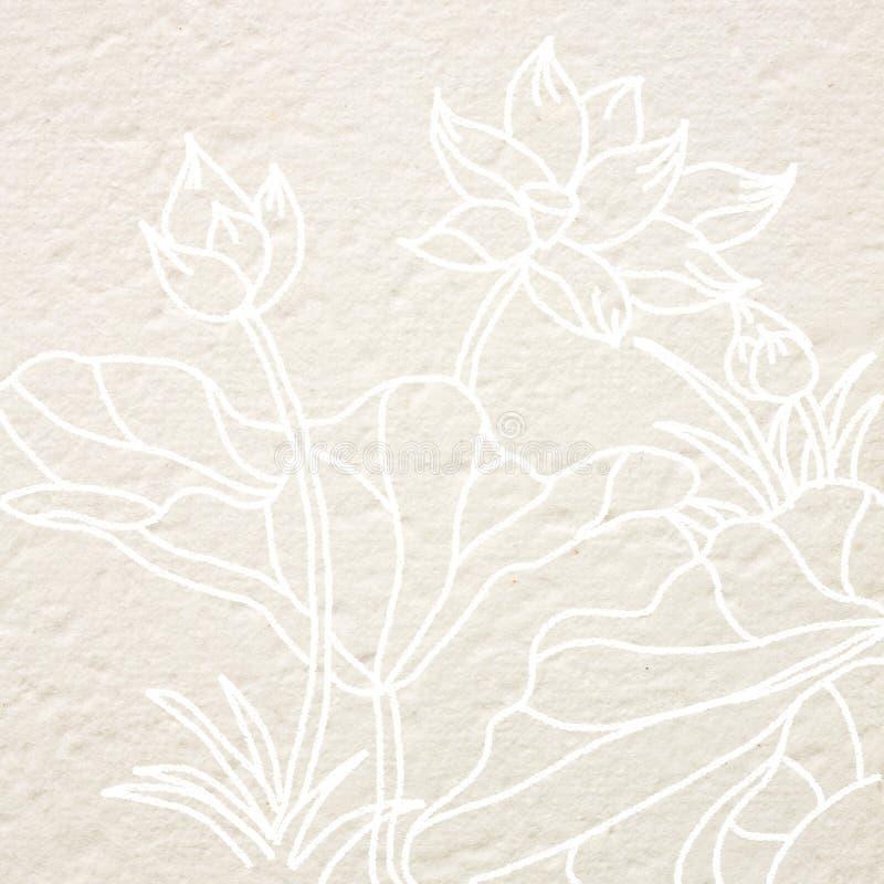 Fiore di loto dell'illustrazione illustrazione vettoriale