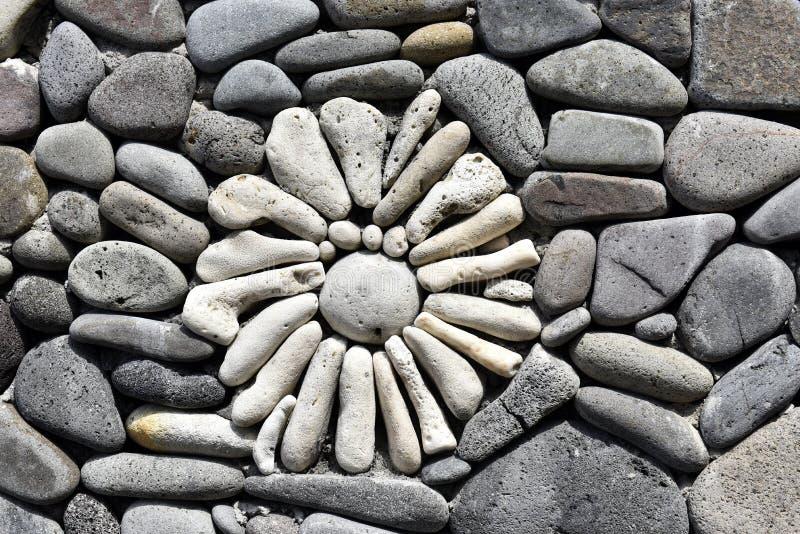Fiore di pietra immagini stock