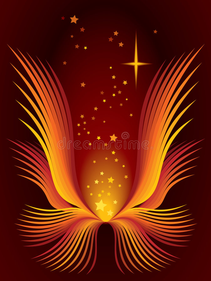 Fiore magico royalty illustrazione gratis