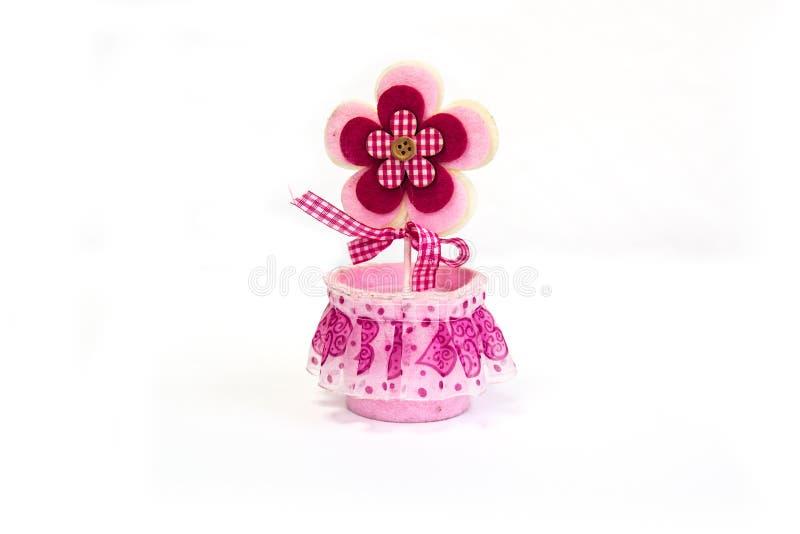 Fiore rosa del giocattolo immagine stock libera da diritti