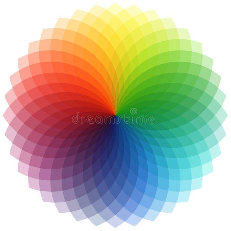 Fiore spettrale illustrazione di stock