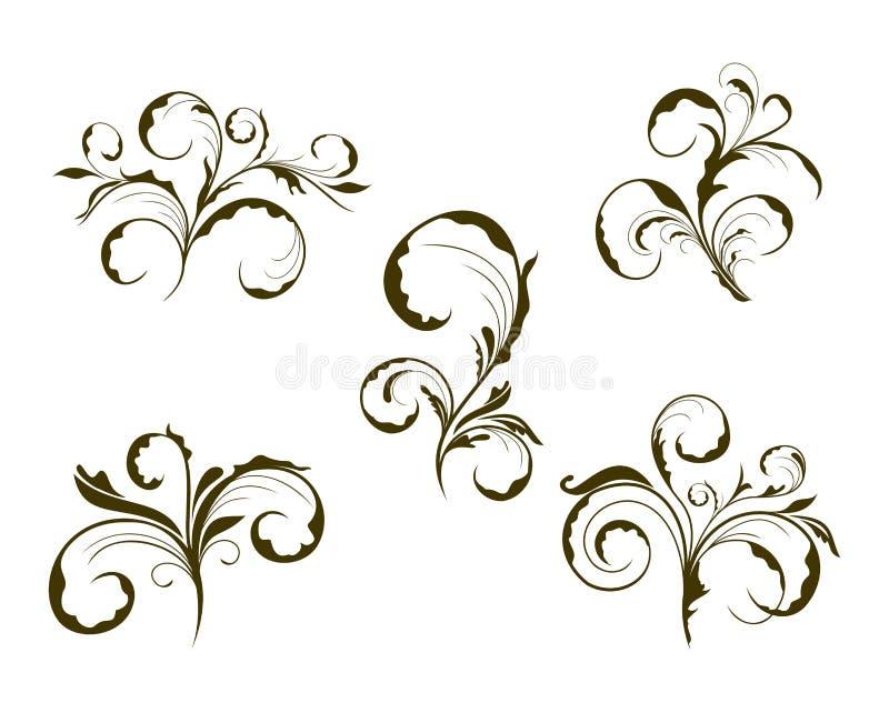 Fiore sveglio stabilito royalty illustrazione gratis