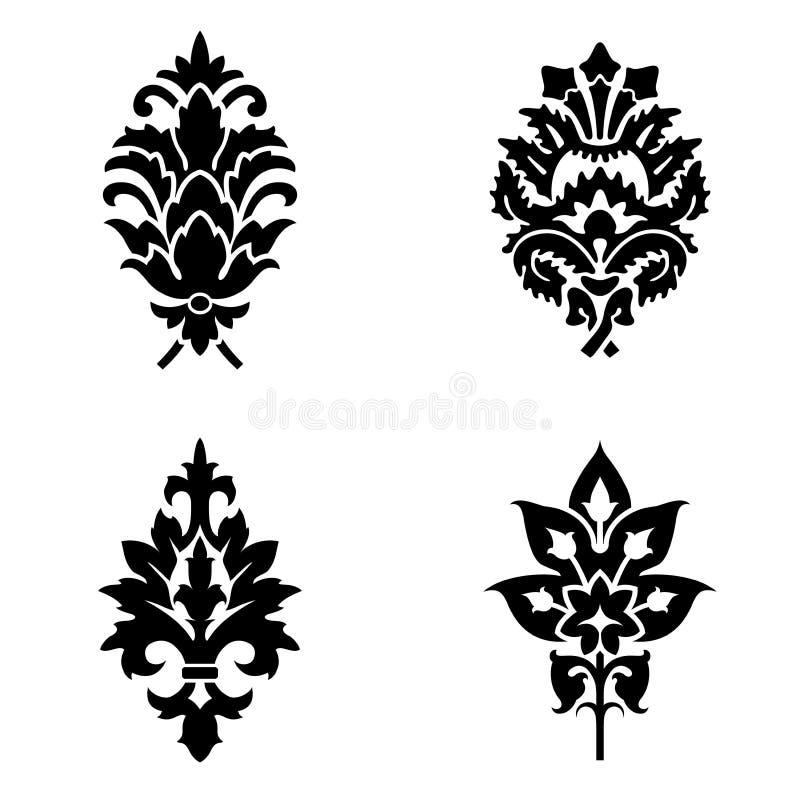 Fiori astratti royalty illustrazione gratis