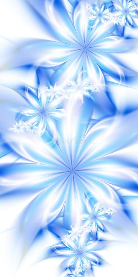 Fiori blu immagini stock libere da diritti