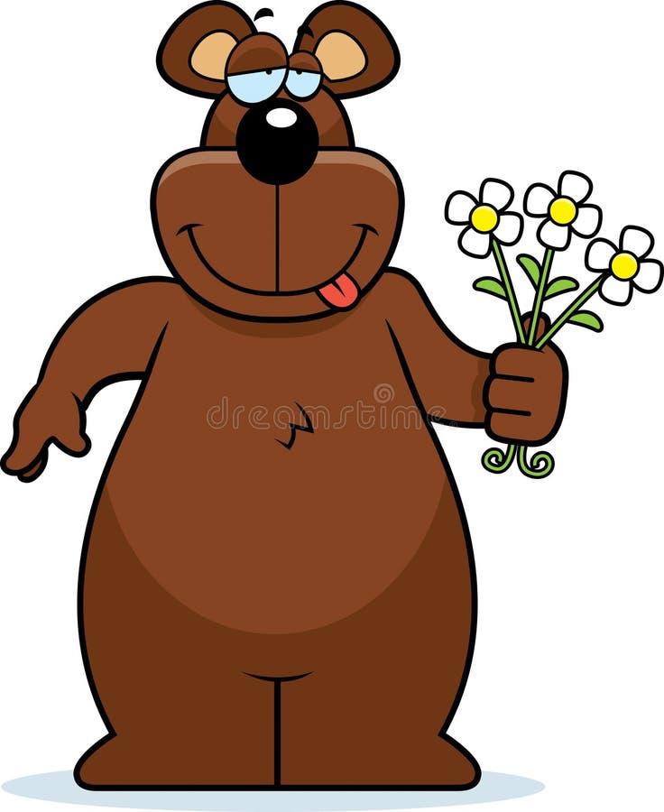 Fiori dell'orso royalty illustrazione gratis