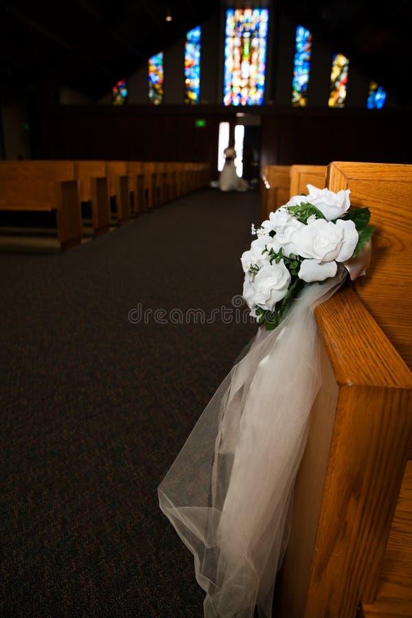 Fiori della chiesa fotografia stock
