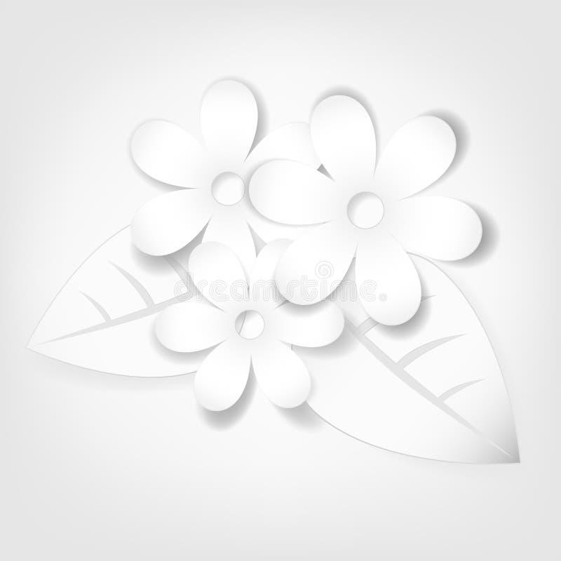 Download Fiori di carta astratti. illustrazione vettoriale. Illustrazione di campo - 30829134