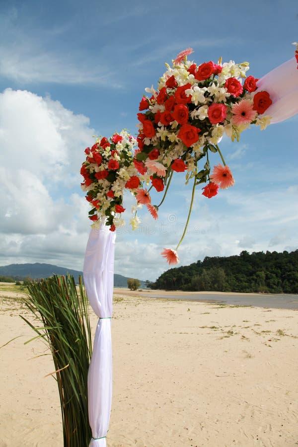 Fiori di cerimonia nuziale. fotografia stock