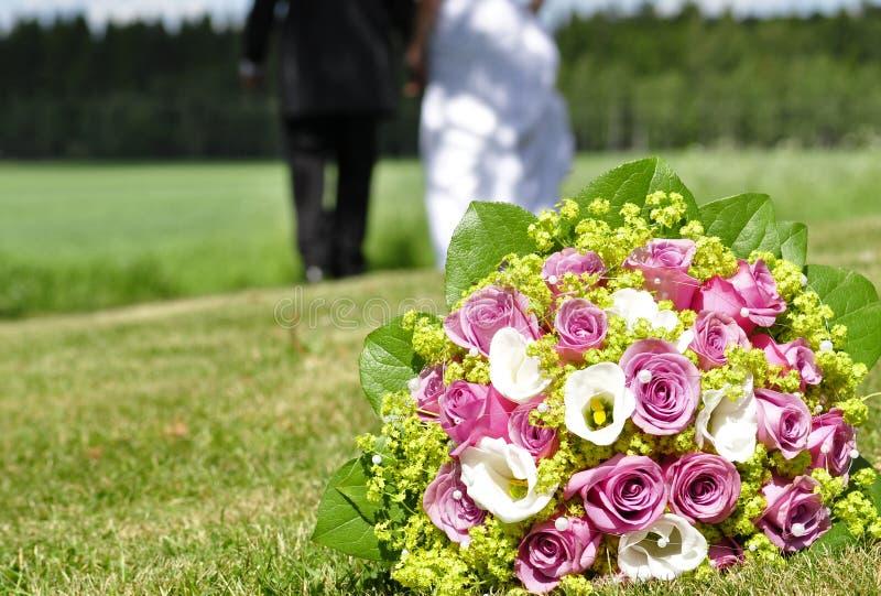 Fiori di cerimonia nuziale fotografia stock