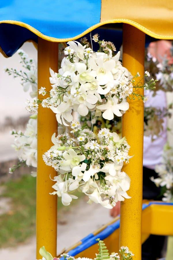 Fiori di cerimonia nuziale. immagini stock libere da diritti