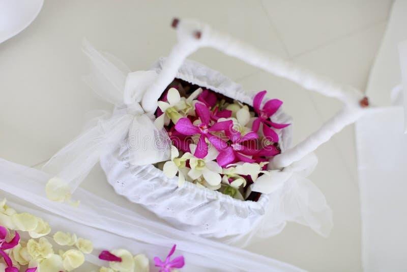 Fiori di cerimonia nuziale. immagine stock libera da diritti