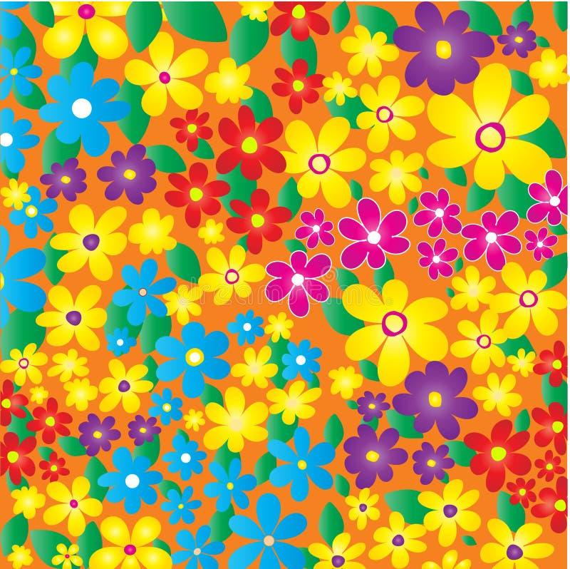 Fiori di estate illustrazione vettoriale