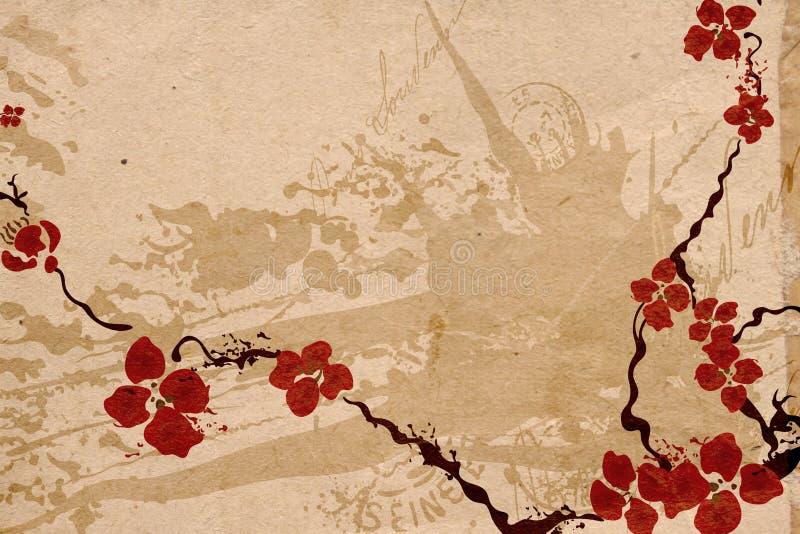 Fiori di Sakura illustrazione di stock