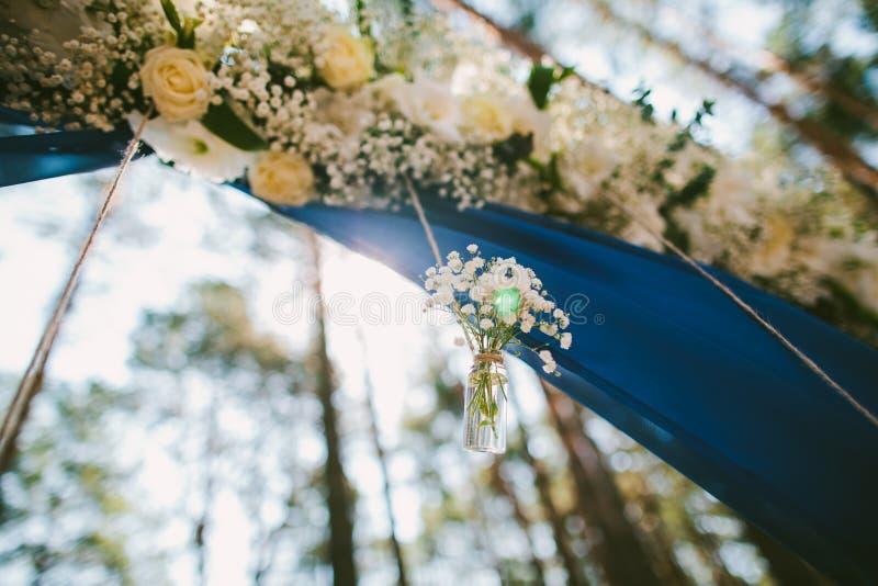 Fiori di Weding decorazione fotografie stock