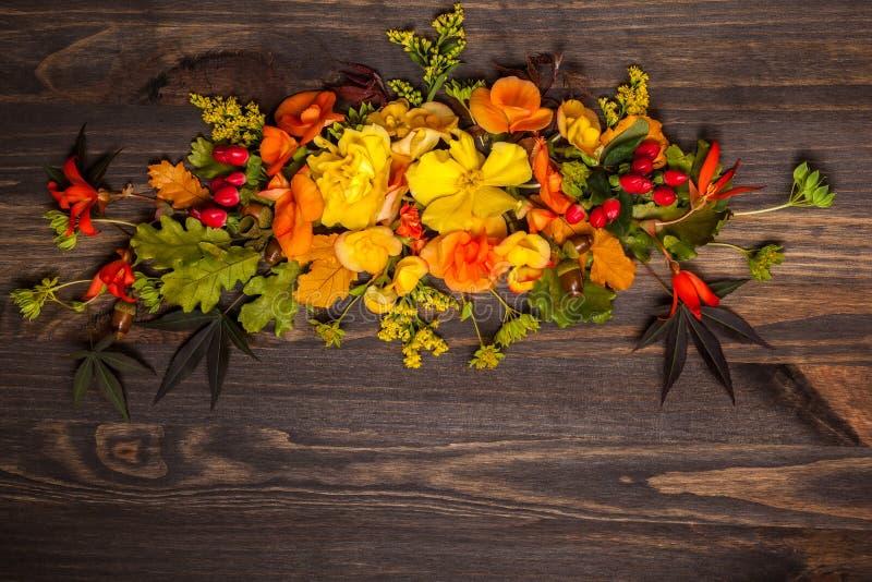 Fiori e bacche autunnali fotografia stock immagine di for Immagini fiori autunnali