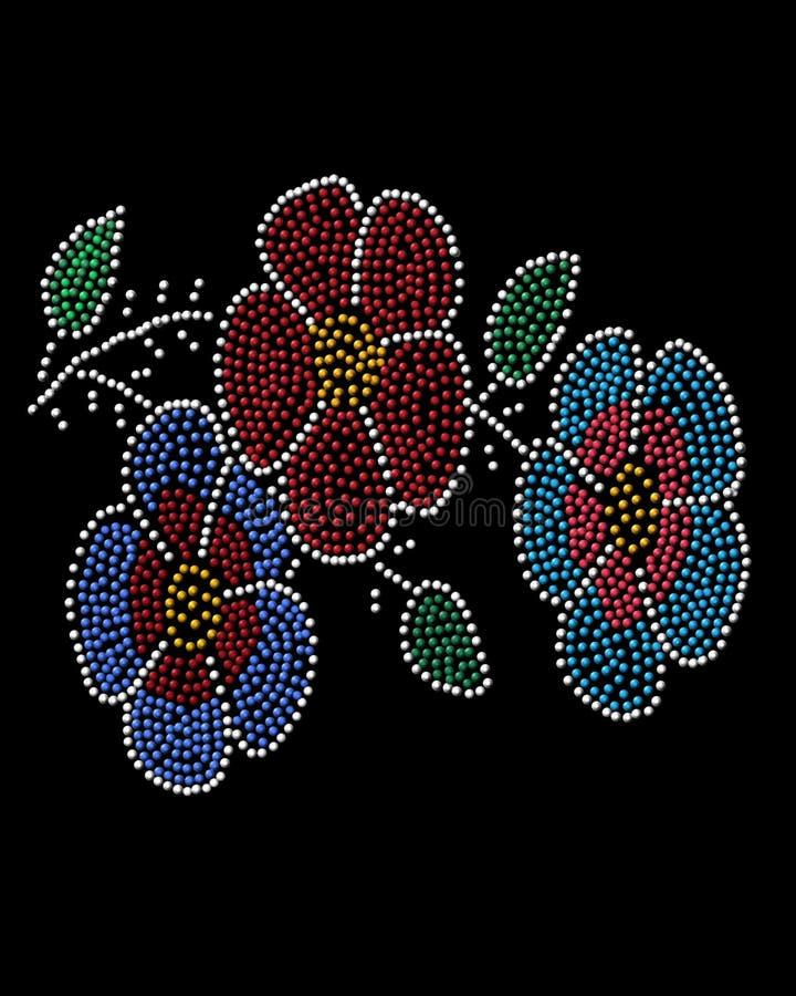 Fiori indigeni della perla immagini stock