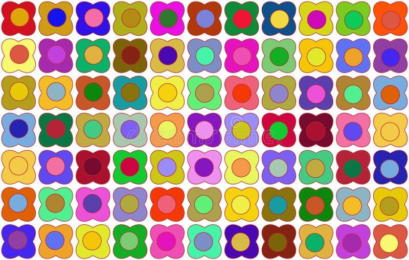 Fiori semplici come carta da parati illustrazione di stock for Fiori semplici