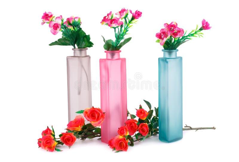 Fiori in vasi fotografia stock