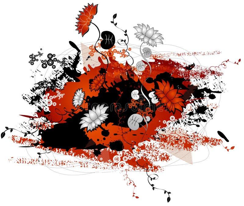 fiorisca, vector l'illustrazione illustrazione vettoriale