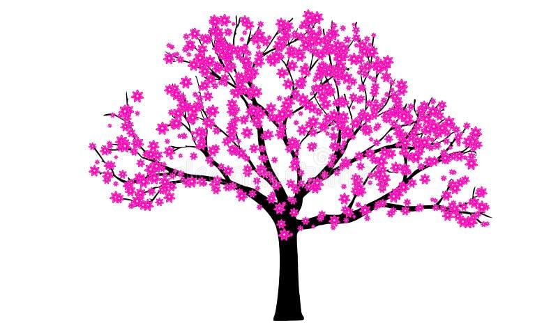 Fiorisce l'albero illustrazione di stock