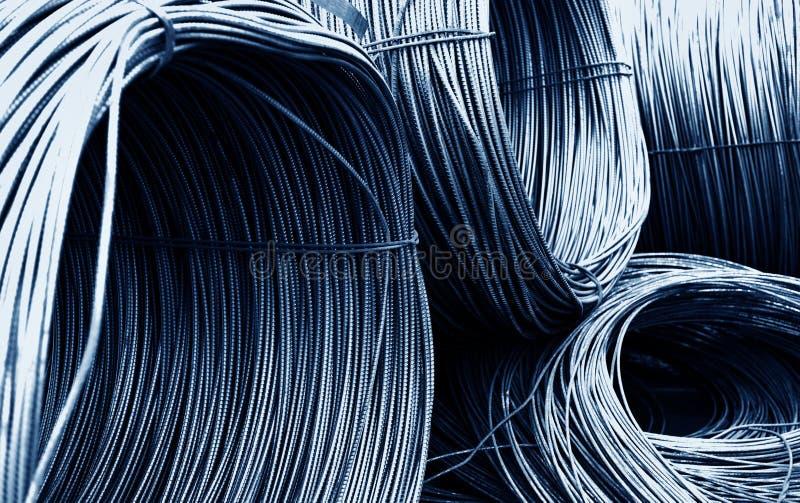 Fios do ferro fotografia de stock