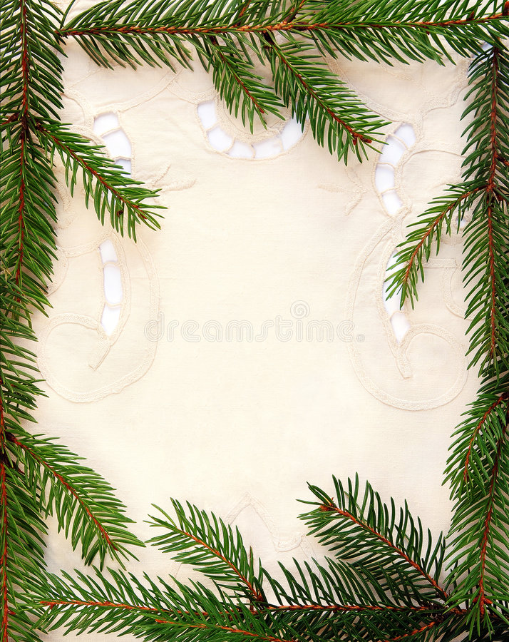 Download Fir framing stock image. Image of festive, leaves, holiday - 7070579