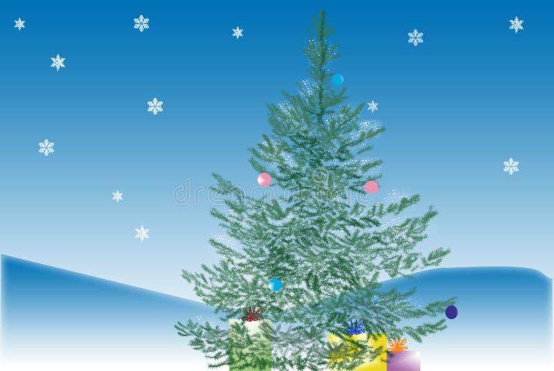 Download Fir-tree stock illustration. Illustration of drawing - 11684523