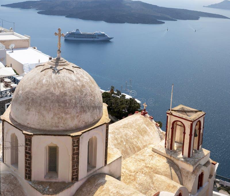 Download Fira church 05 stock photo. Image of hill, beautiful - 20965706
