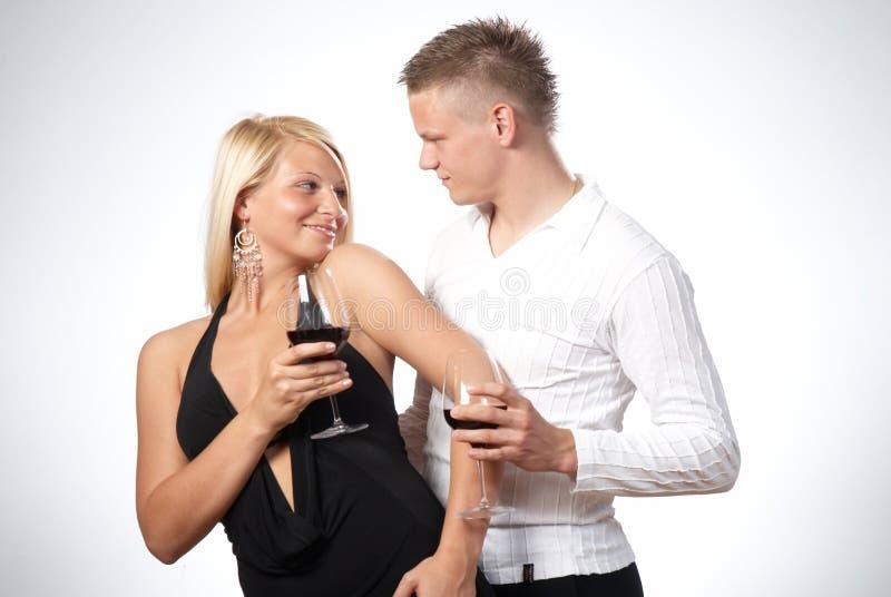 fira lyckligt barn för par royaltyfri bild