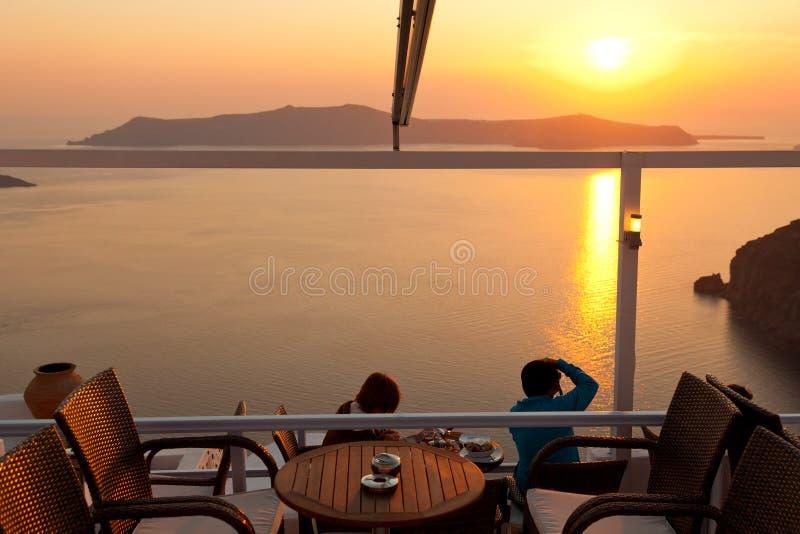 Fira, Santorini stockbilder