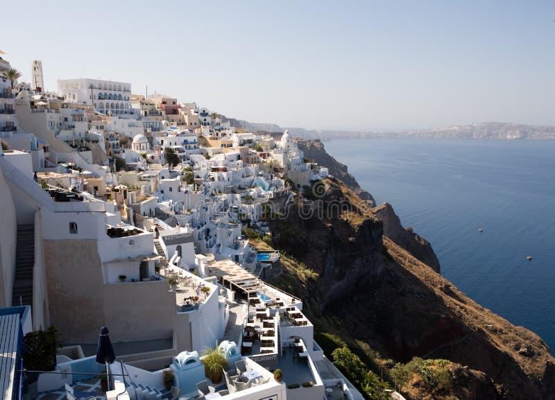 Download Fira, Santorini stock image. Image of sunny, view, islands - 6927205