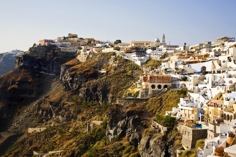 Download Fira, Santorini, Greece Royalty Free Stock Photos - Image: 8378808