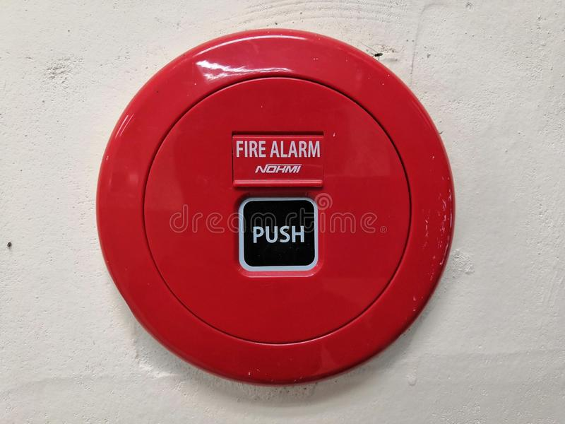Firealarm stock foto's