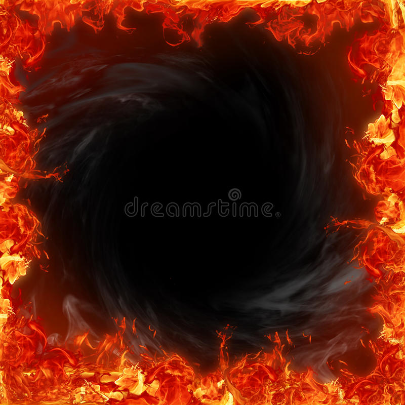 Fire. Flames, framework for picture vector illustration