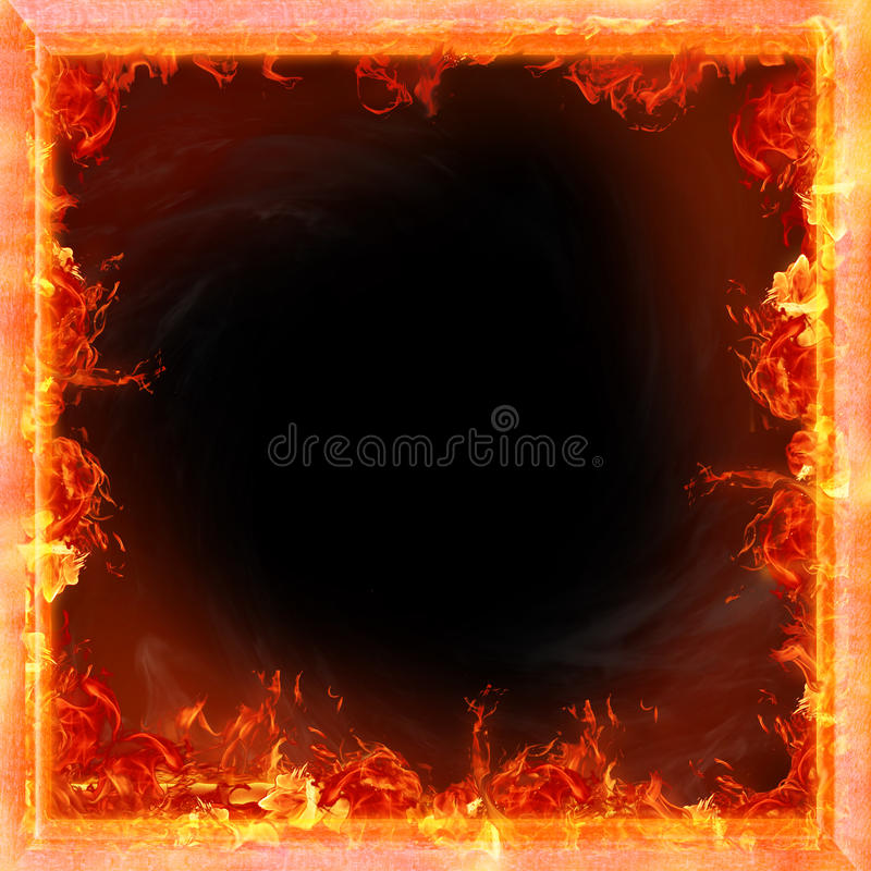 Fire. Flames, framework for picture stock illustration
